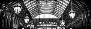 Apple Market in Covent Garden Market - Coven Garden - London - UK - England - United Kingdom by Philippe Hugonnard