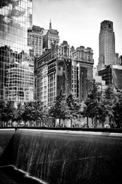 Architecture and Buildings, 9/11 Memorial, 1WTC, Manhattan, NYC, White Frame, Full Size Photography by Philippe Hugonnard