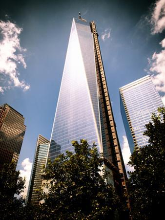 Architecture and Buildings, One World Trade Center (1WTC), Manhattan, New York, USA, Vintage Colors by Philippe Hugonnard