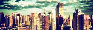 Architecture and Buildings, Sunset, Midtown of Manhattan, Times Square and 42 Street, New York by Philippe Hugonnard