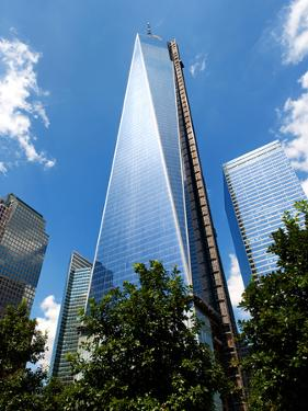 Architecture and Buildings, the One World Trade Center (1Wtc), Manhattan, New York, US, USA by Philippe Hugonnard