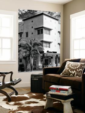 Art Deco Architecture of Miami Beach - Collins Av Sign - Florida - USA by Philippe Hugonnard