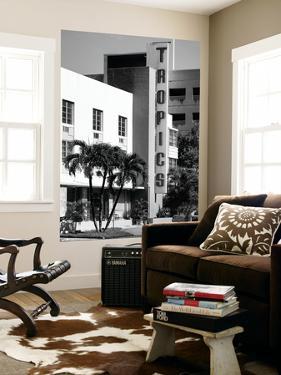 Art Deco Architecture of Miami Beach - The Tropics Hotel - Florida by Philippe Hugonnard