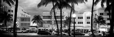 Art Deco Architecture of Ocean Drive - Miami Beach - Florida by Philippe Hugonnard