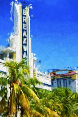 Art Deco District III - In the Style of Oil Painting by Philippe Hugonnard