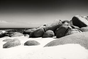 Awesome South Africa Collection B&W - Boulders on the Beach by Philippe Hugonnard