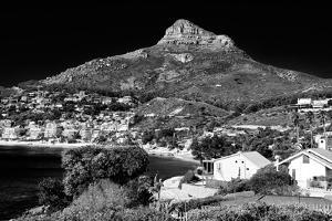 Awesome South Africa Collection B&W - Camps Bay Cape Town by Philippe Hugonnard
