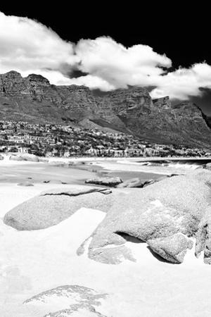 Awesome South Africa Collection B&W - The Twelve Apostles - Camps Bay I by Philippe Hugonnard