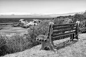 Awesome South Africa Collection B&W - View Point Bench by Philippe Hugonnard