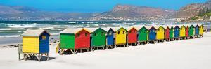 Awesome South Africa Collection Panoramic - Muizenberg Beach Cape Town II by Philippe Hugonnard