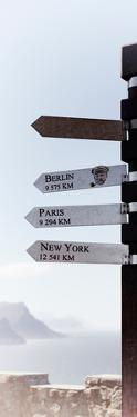 Awesome South Africa Collection Panoramic - Sign Post - Cape of Good Hope by Philippe Hugonnard