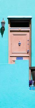 Awesome South Africa Collection Panoramic - Turquoise Wall by Philippe Hugonnard