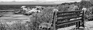 Awesome South Africa Collection Panoramic - View to the Sea B&W by Philippe Hugonnard