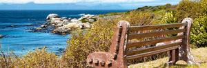 Awesome South Africa Collection Panoramic - View to the Sea II by Philippe Hugonnard