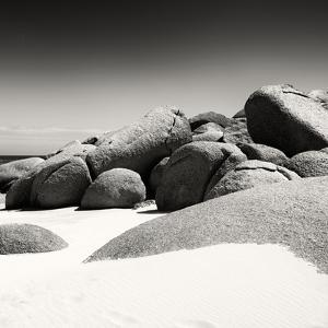 Awesome South Africa Collection Square - Boulders White Beach B&W II by Philippe Hugonnard