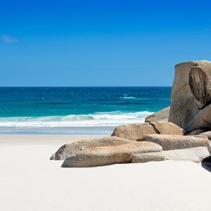 Awesome South Africa Collection Square - White Sandy Beach by Philippe Hugonnard