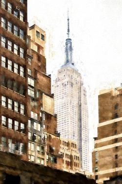 Between two Buildings by Philippe Hugonnard