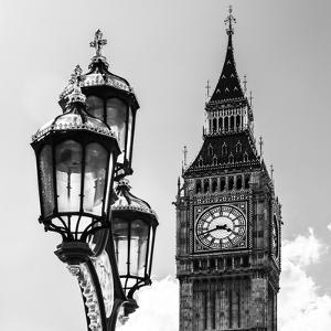Big Ben and the Royal Lamppost UK - City of London - UK - England - United Kingdom - Europe by Philippe Hugonnard