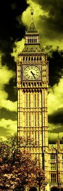 Big Ben - City of London - UK - England - United Kingdom - Europe - Photography Door Poster by Philippe Hugonnard