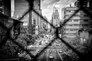 Black Manhattan Collection - Between the mesh of the Fence by Philippe Hugonnard