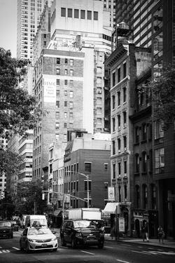 Black Manhattan Collection - Between the Skyscrapers by Philippe Hugonnard