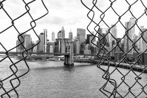 Black Manhattan Collection - Between two Fences by Philippe Hugonnard