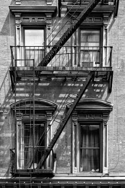 Black Manhattan Collection - Black Fire Escape Staircase by Philippe Hugonnard