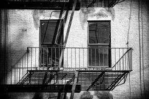Black Manhattan Collection - Black Windows by Philippe Hugonnard