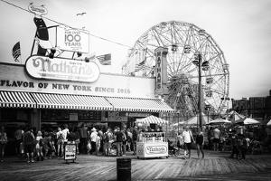 Black Manhattan Collection - Boardwalk Coney Island by Philippe Hugonnard