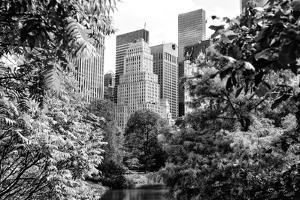 Black Manhattan Collection - Central Park by Philippe Hugonnard