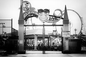 Black Manhattan Collection - Coney Island Luna Park by Philippe Hugonnard