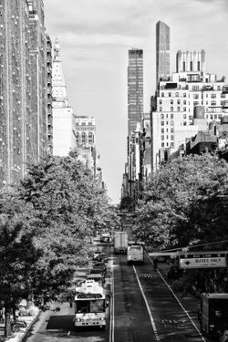 Black Manhattan Collection - Downtown I by Philippe Hugonnard