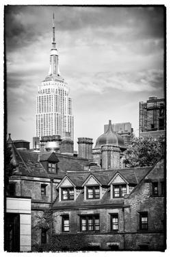 Black Manhattan Collection - Empire State Building by Philippe Hugonnard