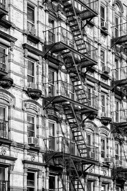 Black Manhattan Collection - Fire Escape Staircases facade by Philippe Hugonnard