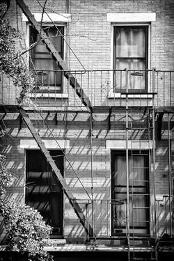 Black Manhattan Collection - Fire Escape Stairs New York by Philippe Hugonnard