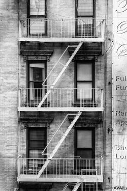 Black Manhattan Collection - Fire Escape Stairs by Philippe Hugonnard