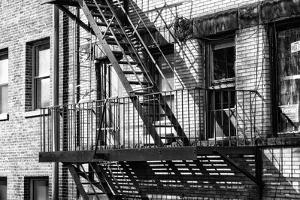Black Manhattan Collection - Fire Escape by Philippe Hugonnard