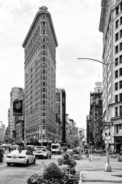 Black Manhattan Collection - Flatiron Building by Philippe Hugonnard