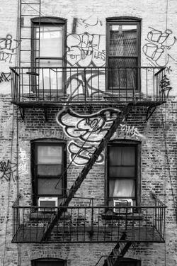 Black Manhattan Collection - Graffiti Stairs by Philippe Hugonnard