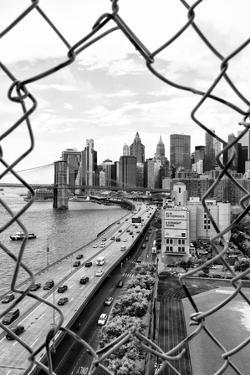 Black Manhattan Collection - Hole in the Fence by Philippe Hugonnard