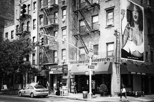 Black Manhattan Collection - Houston Street by Philippe Hugonnard