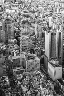 Black Manhattan Collection - Jenga Building by Philippe Hugonnard