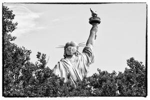 Black Manhattan Collection - Lady Liberty I by Philippe Hugonnard