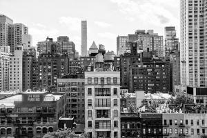 Black Manhattan Collection - New York Buildings by Philippe Hugonnard