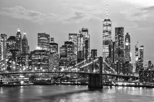 Black Manhattan Collection - New York by Night by Philippe Hugonnard