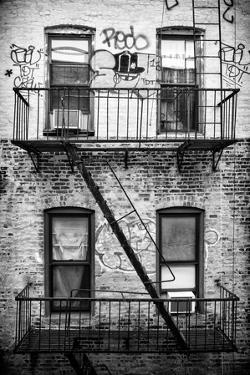 Black Manhattan Collection - New York Facade I by Philippe Hugonnard