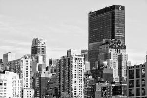 Black Manhattan Collection - NYC Skyscrapers by Philippe Hugonnard