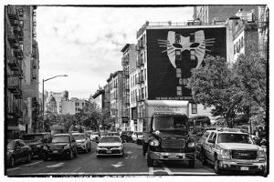 Black Manhattan Collection - NYC Street Scene by Philippe Hugonnard