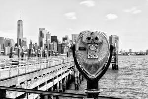Black Manhattan Collection - NYC Telescope by Philippe Hugonnard