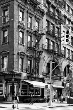 Black Manhattan Collection - NYC Urban Scene by Philippe Hugonnard